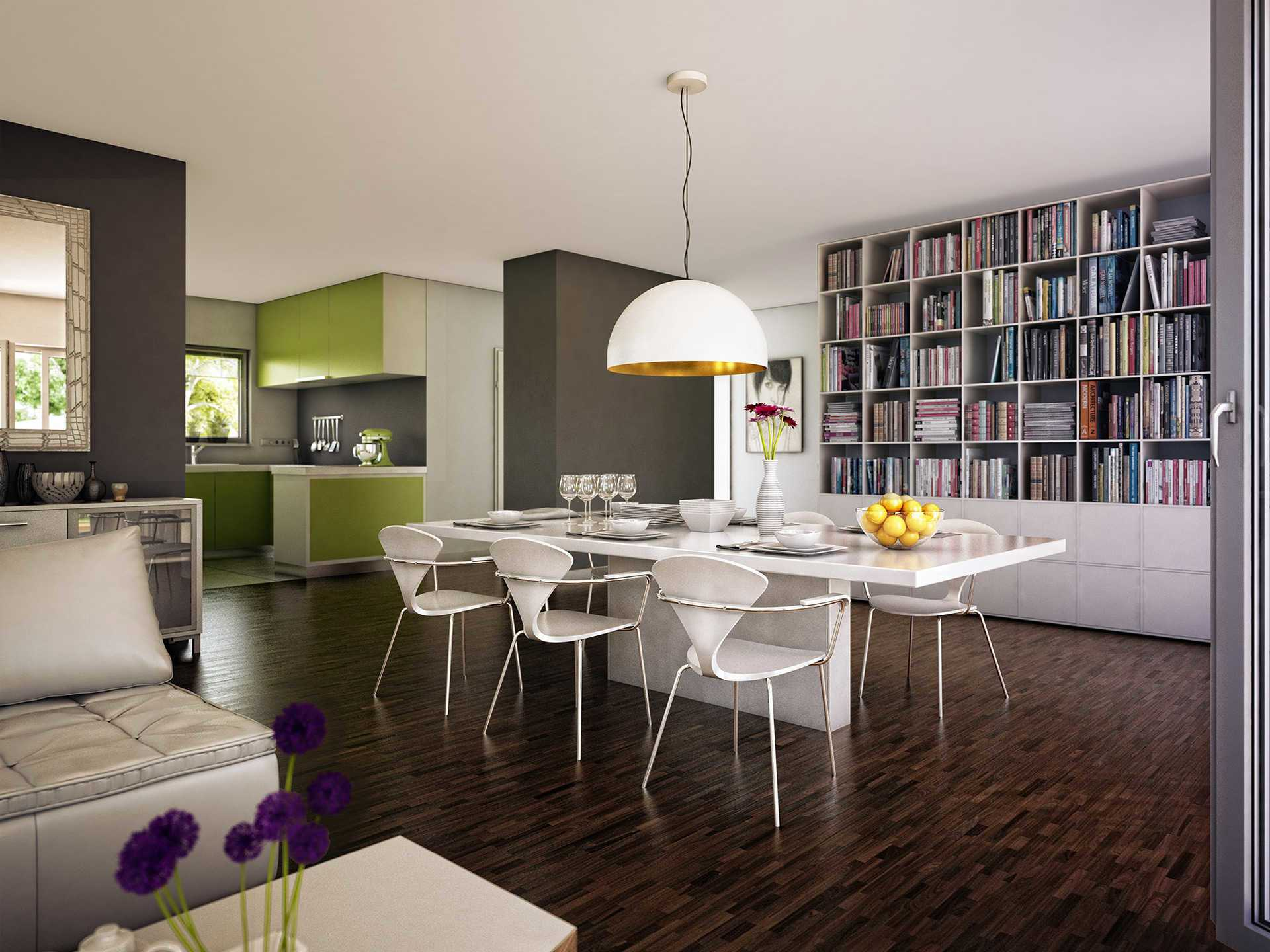 Innenansicht Esszimmer - Concept-M Aktionshaus 100 V5 von Bien-Zenker