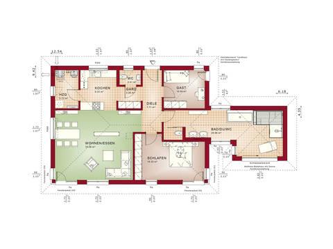 Grundriss EG Concept-M Aktionshaus 100 V5