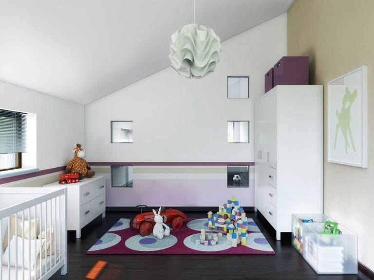 Innenansicht Kinderzimmer - Concept-M Köln Mod-Classic von Bien-Tenker