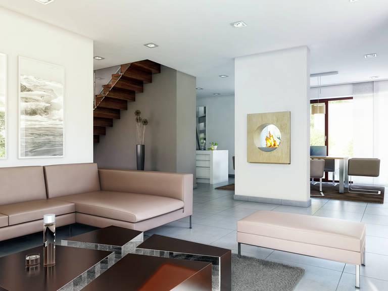 Innenansicht Wohnzimmer - Concept-M Köln Mod-Classic von Bien-Tenker