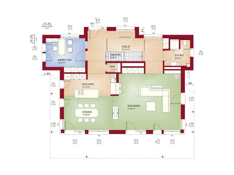 Concept-M Wuppertal Ambiente V2 Grundriss EG