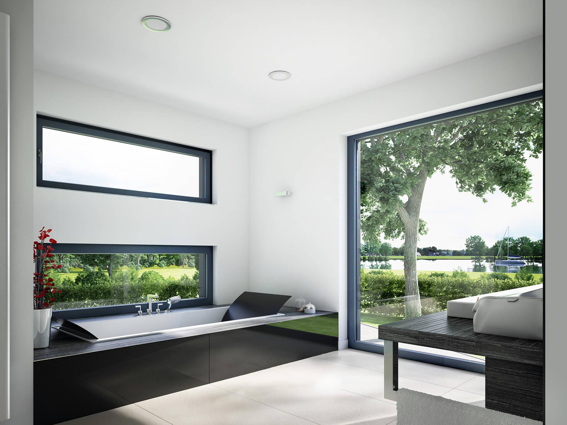 Innenansicht Badezimmer - Concept-M Wuppertal Ambiente V2 von Bien-Zenker