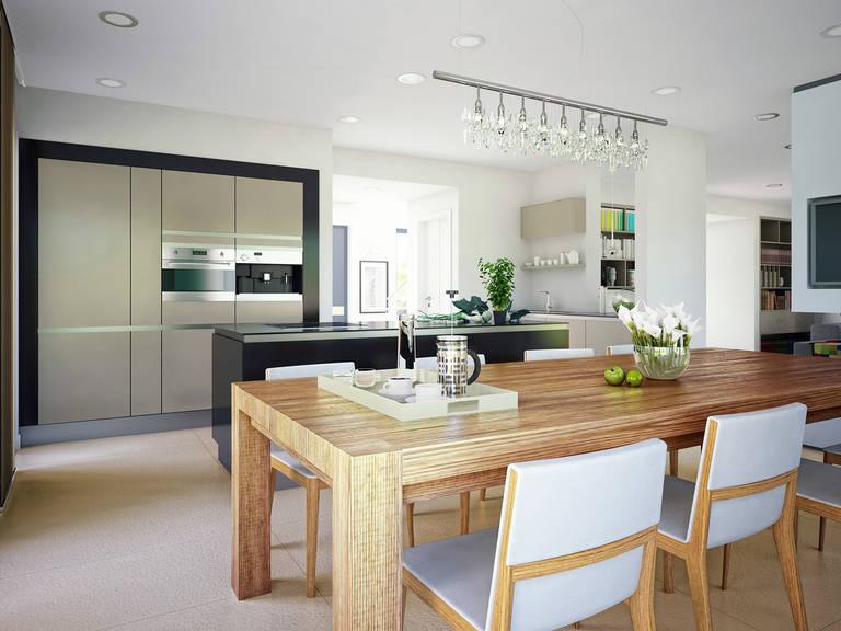 Innenansicht Küche - Concept-M Wuppertal Ambiente V2 von Bien-Zenker