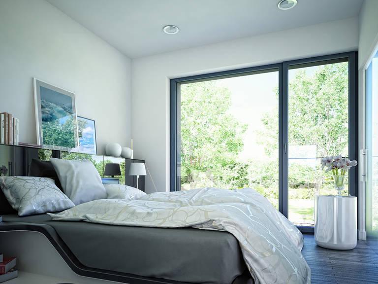 Innenansicht Schlafzimmer - Concept-M Wuppertal Ambiente V2 von Bien-Zenker