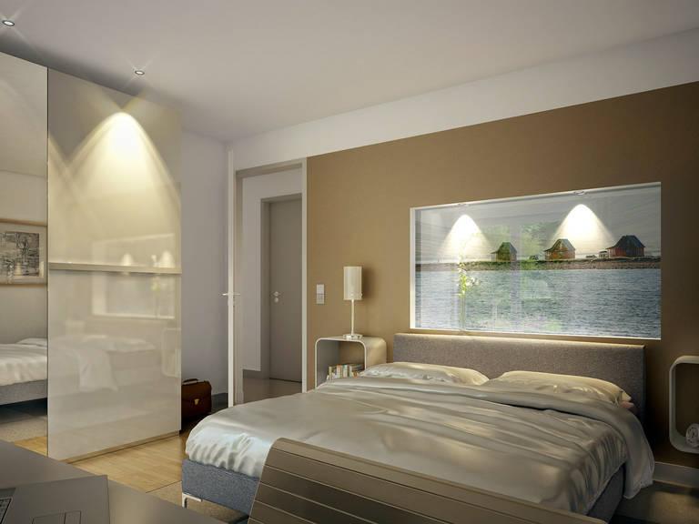 Innenansicht Schlafzimmer - Evolution 111 V5 – Bungalow von Bien-Zenker
