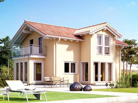 mediterranes haus hausbeispiele preise grundrisse. Black Bedroom Furniture Sets. Home Design Ideas