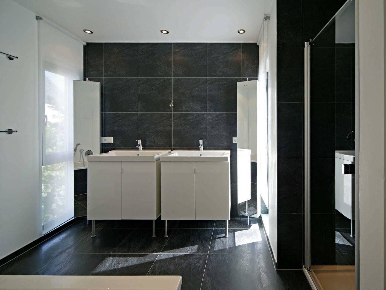 Haus Rauch Fertighaus Weiss Badezimmer