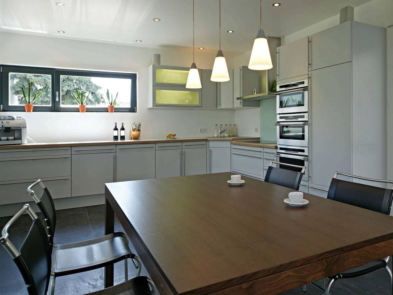 Haus Rauch Fertighaus Weiss Küche