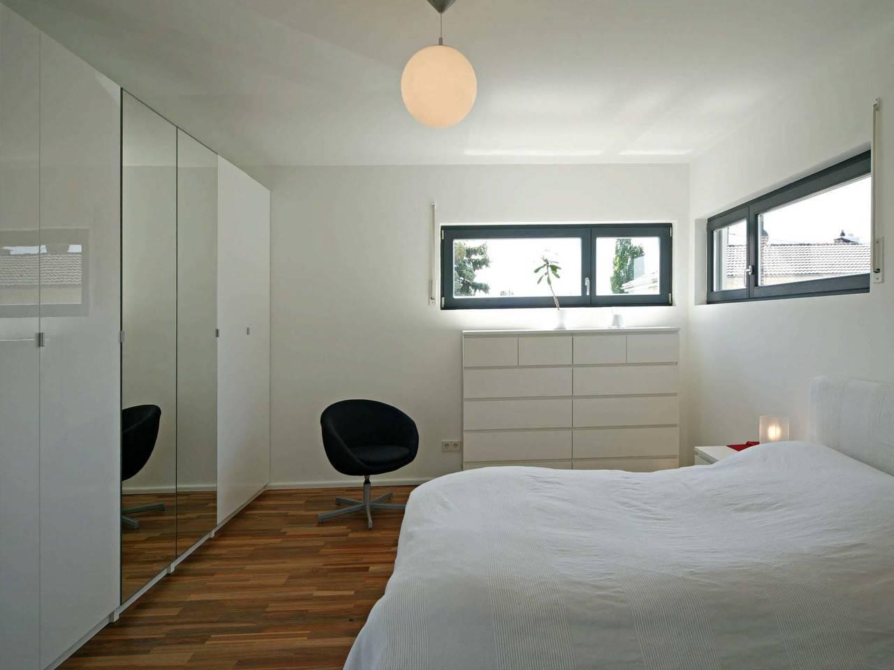 Haus Rauch Fertighaus Weiss Schlafzimmer
