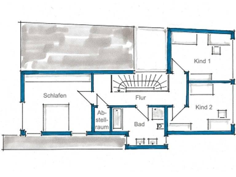 Grundriss Dachgeschoss Haus Rauch