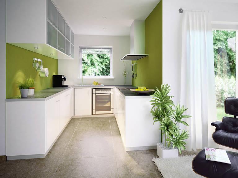 Innenansicht Küche - Evolution 122 V8 – Einfamilienhaus von Bien-Zenker
