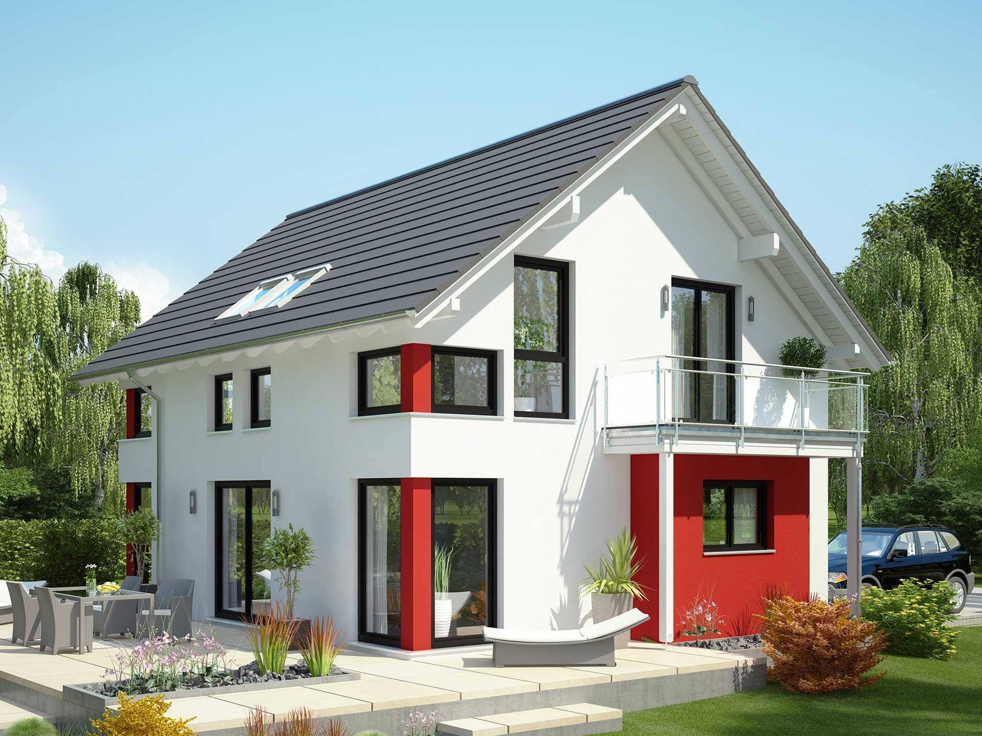 einfamilienhaus evolution 125 v2 bien zenker. Black Bedroom Furniture Sets. Home Design Ideas