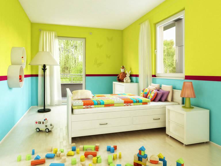 Bien-Zenker Evolution 125 V2 Einfamilienhaus Kinderzimmer