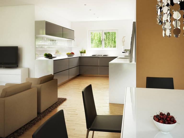Bien-Zenker Evolution 125 V2 Einfamilienhaus Küche