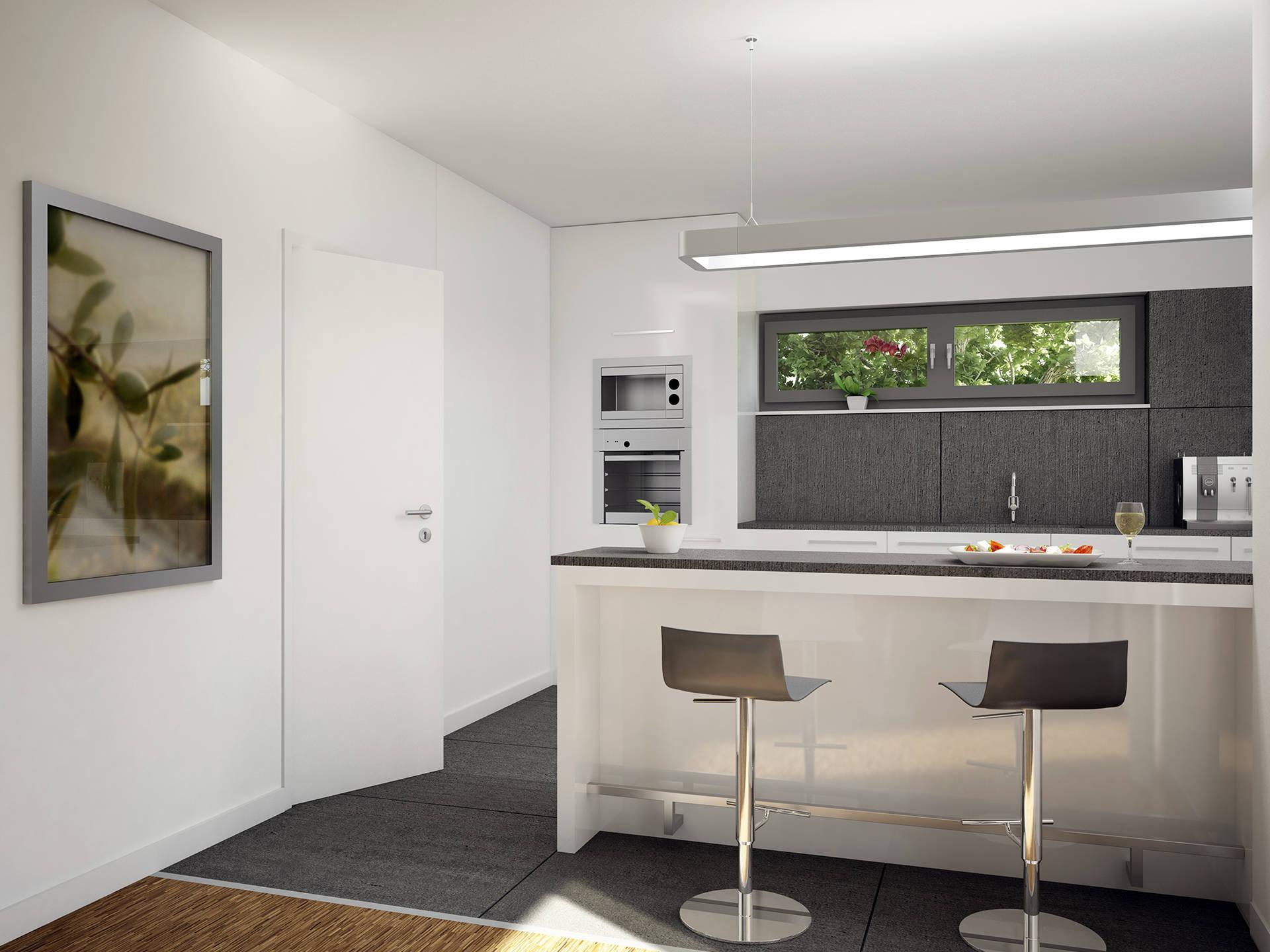 Innenansicht Küche - Evolution 135 V7 – Einfamilienhaus von Bien-Zenker