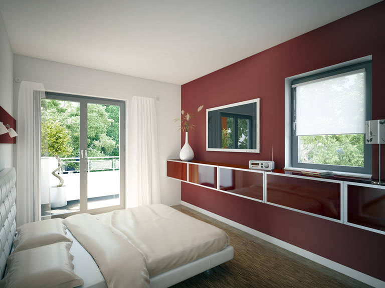 Innenansicht Schlafzimmer - Evolution 135 V7 – Einfamilienhaus von Bien-Zenker