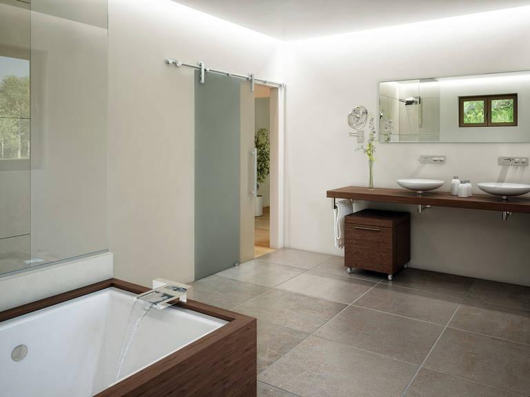 Innenansicht Badezimmer - Evolution 148 V9 – Einfamilienhaus von Bien-Zenker