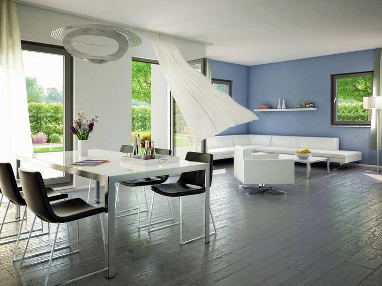 Innenansicht Wohnzimmer - Evolution 148 V9 – Einfamilienhaus von Bien-Zenker