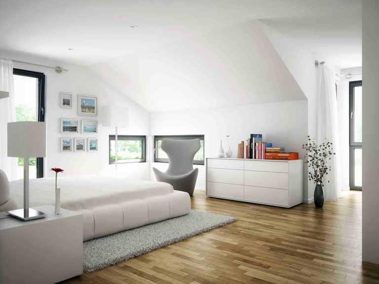 Einfamilienhaus EVOLUTION 154 V10 - Bien-Zenker Schlafzimmer