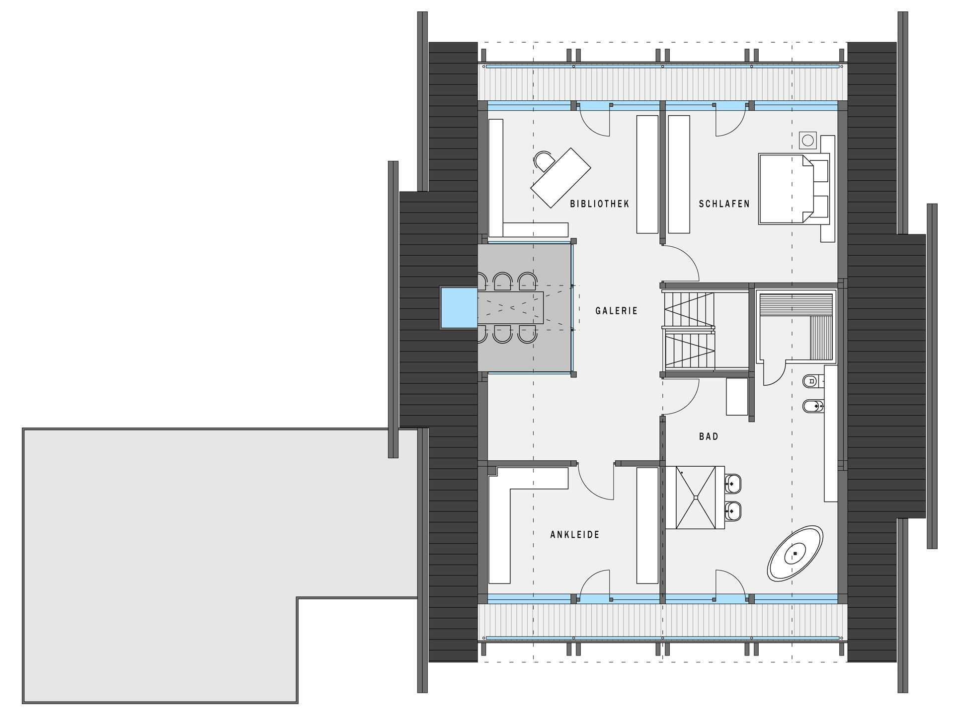 huf haus art 4 projektbeispiel 2 huf haus. Black Bedroom Furniture Sets. Home Design Ideas
