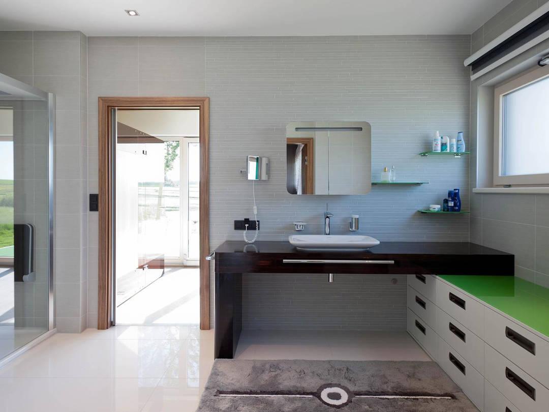 Hartl Haus Liberty 211 Innenansicht Badezimmer