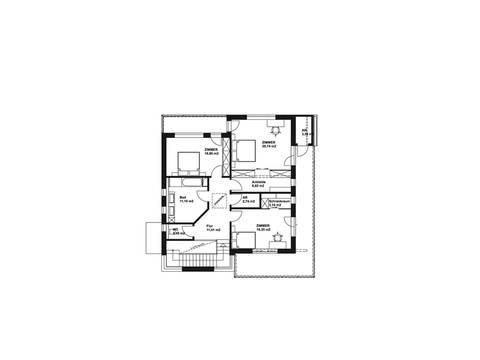 Hartl Haus Liberty 211 Grundriss Variante OG2