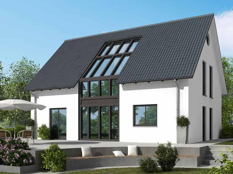 Einfamilienhaus 155 M klassisch - Baudirekt
