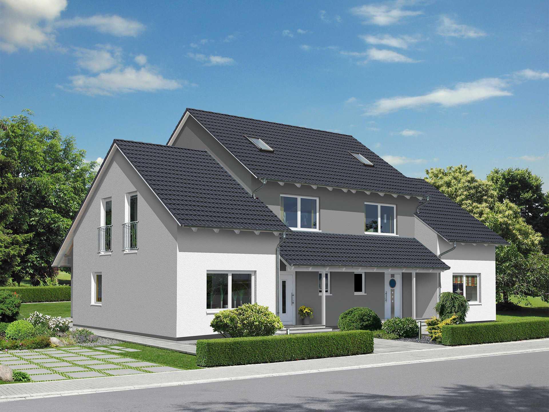 Beispielhaus 15 0 ytong bausatzhaus for Bilder doppelhaus