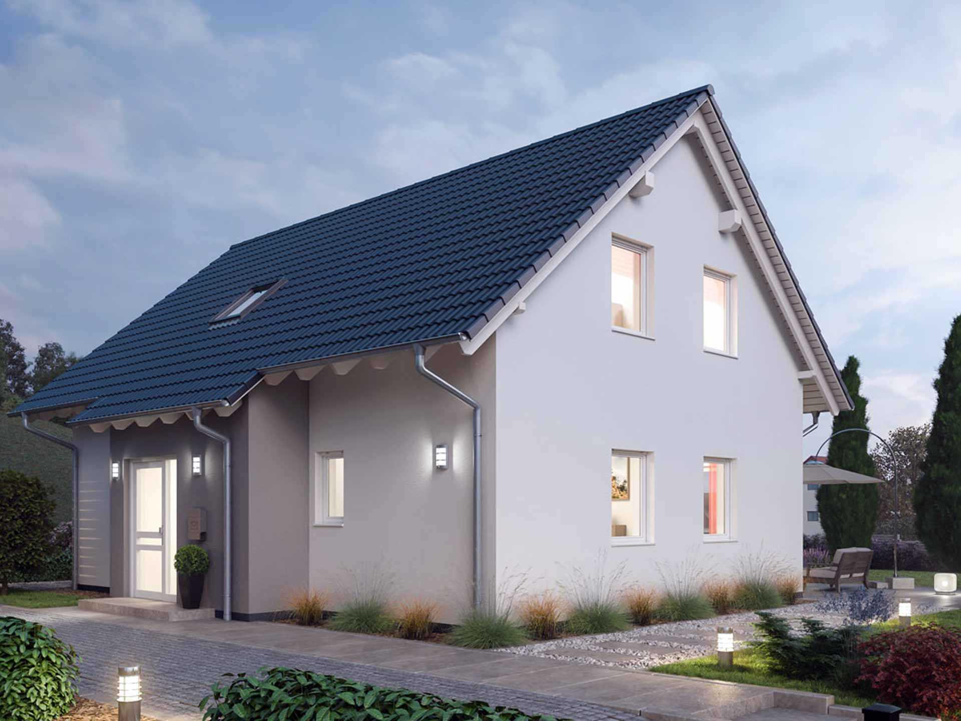 Einfamilienhaus 151 - Ytong Bausatzhaus | Musterhaus.net