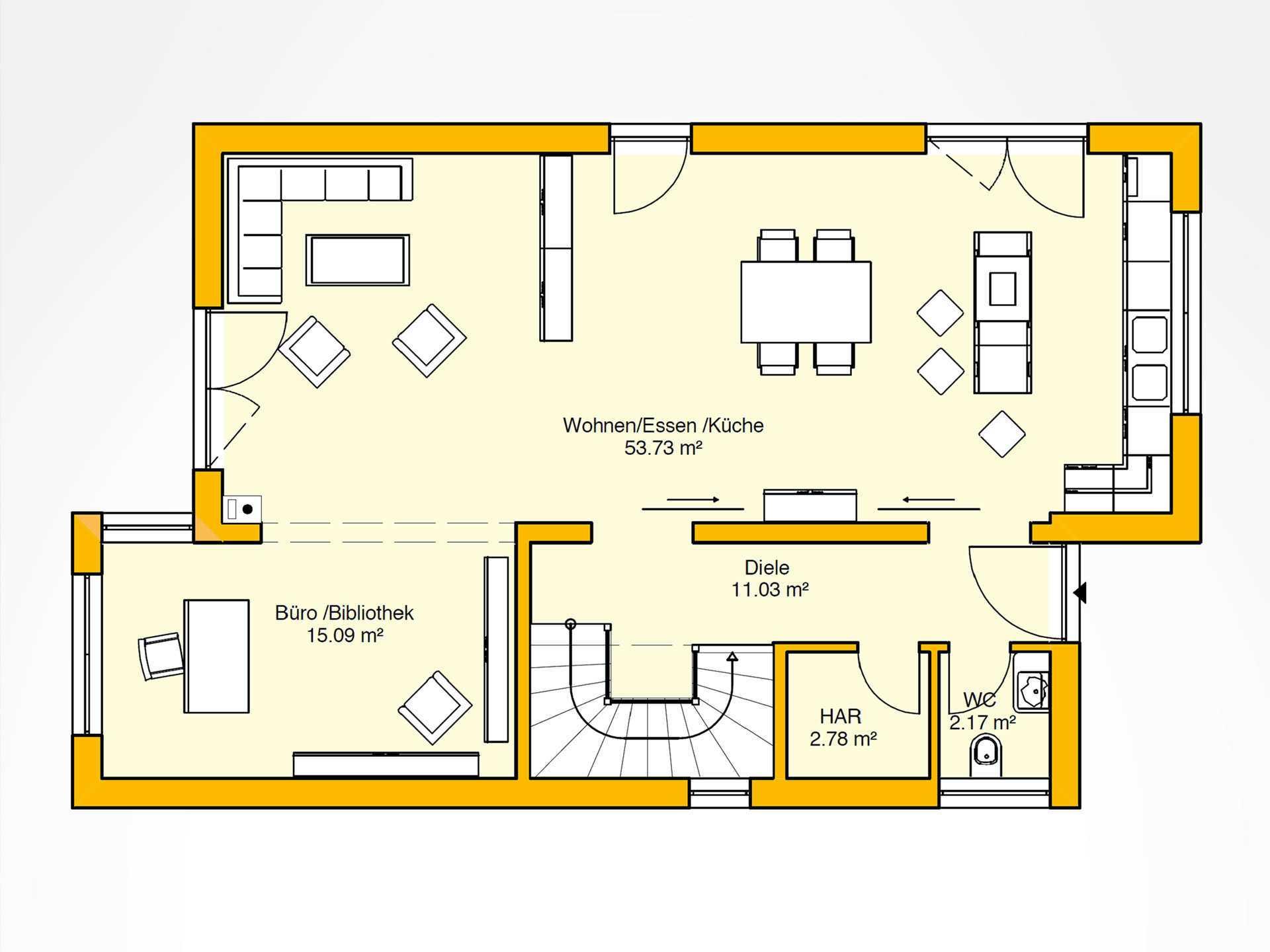 beispielhaus 31 0 ytong bausatzhaus. Black Bedroom Furniture Sets. Home Design Ideas