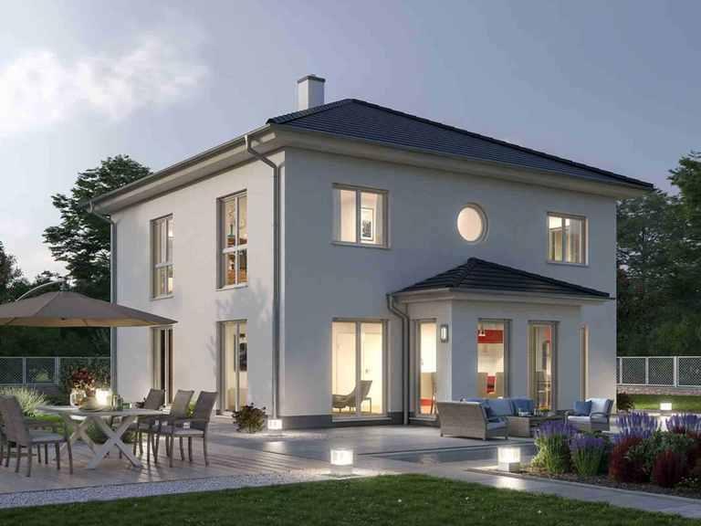 Stadtvilla 157 - Ytong Bausatzhaus Terrasse