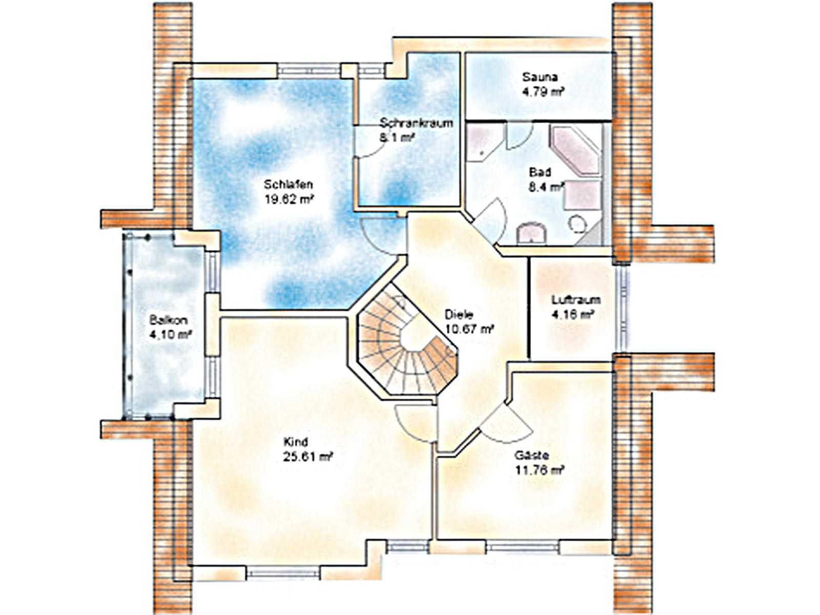Haus Econ Grundriss Dachgeschoss