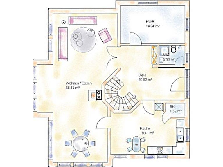 Haus Econ Grundriss Erdgeschoss
