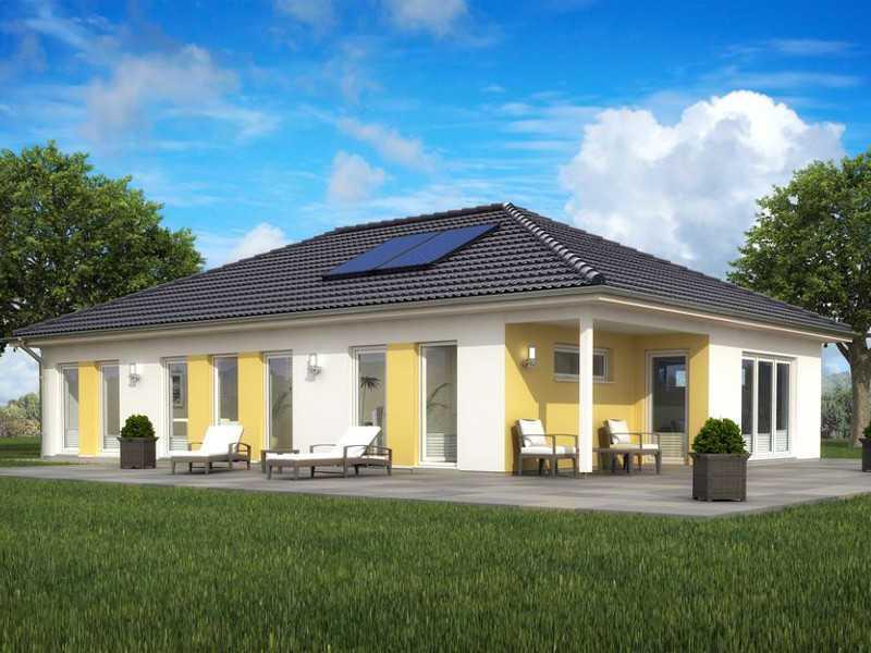 bungalow sh 127 b variante b scanhaus marlow. Black Bedroom Furniture Sets. Home Design Ideas