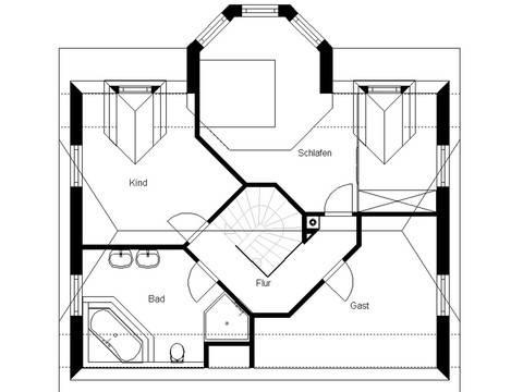 White Pearl 130 Finesse Grundriss Erdgeschoss