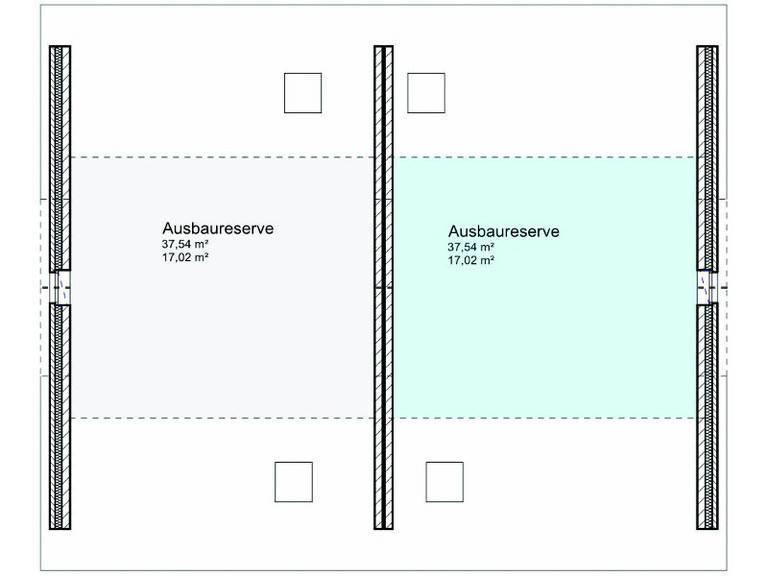 Grundriss-Ausbaureserve Doppelhaus 01