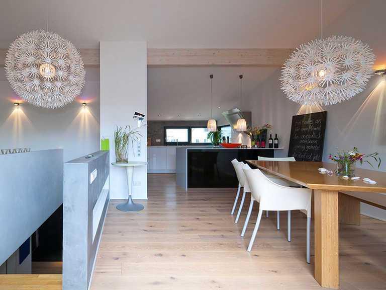 Küche und Essbereich - KitzlingerHaus - Family