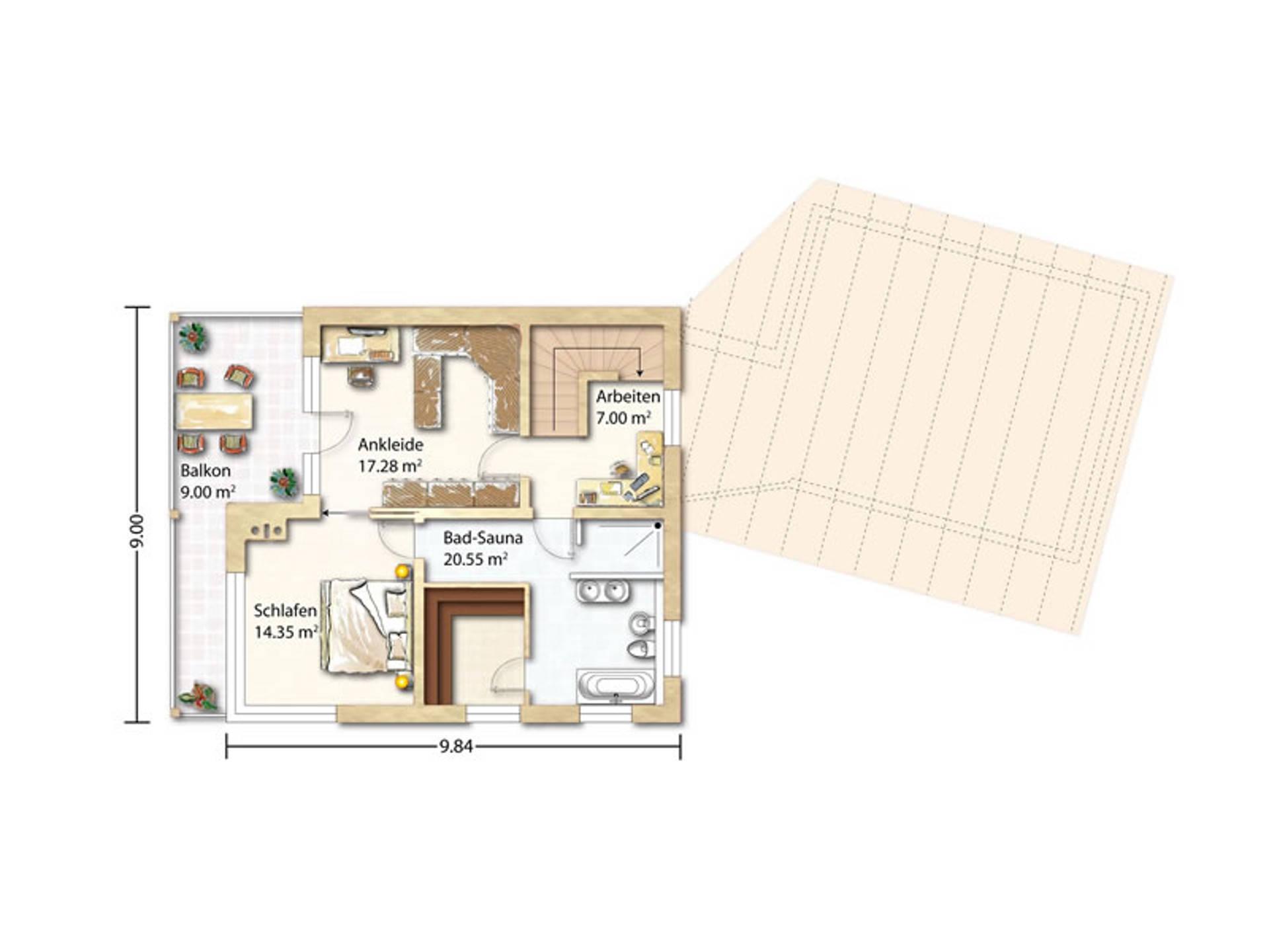 haus zeh holzhaus rosskopf. Black Bedroom Furniture Sets. Home Design Ideas