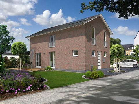 Außenansicht Stadthaus Aura 125 Klinker