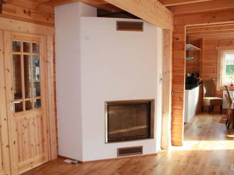 Innenansicht Blockhaus Kühling