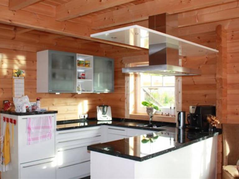 Küche Blockhaus Kühling
