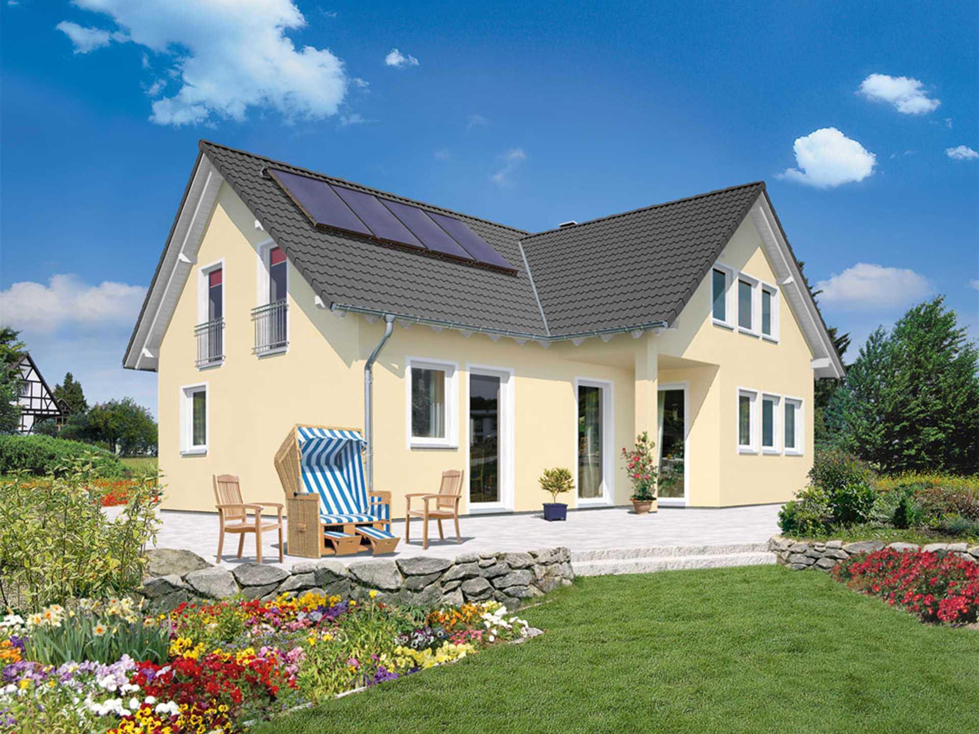 haus domizil 192 mit einliegerwohnung town country haus. Black Bedroom Furniture Sets. Home Design Ideas
