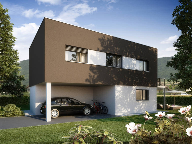 Haus Alea Variante 1 Straßenseite
