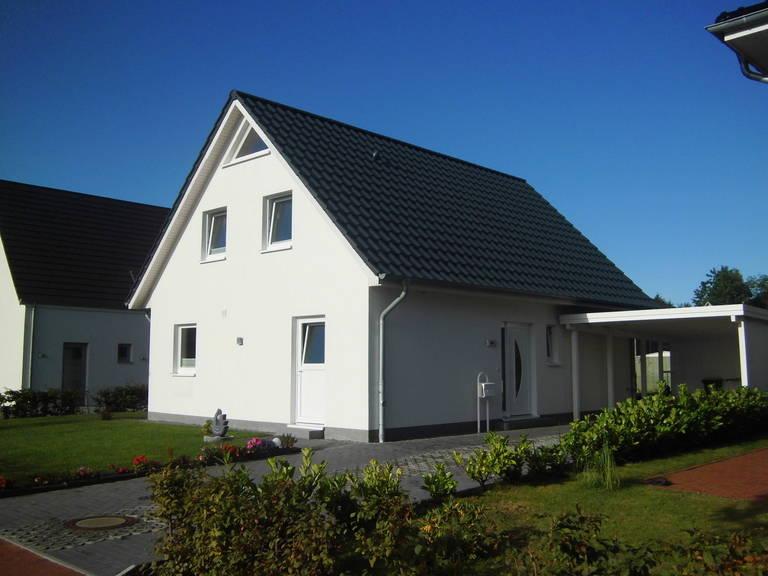 Außenansicht EInfamilienhaus 100 von Promodus Bau GmbH