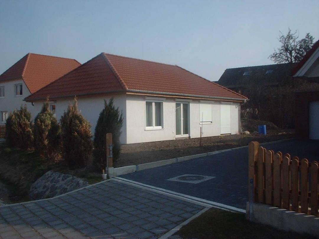 Außenansicht Bungalow Promodus Bau GmbH