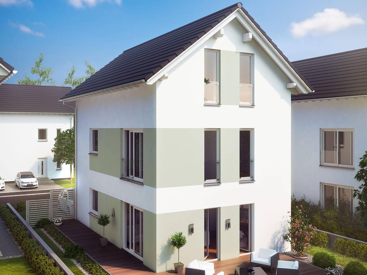 Aussenansicht Stadt Special 1 von massa haus GmbH
