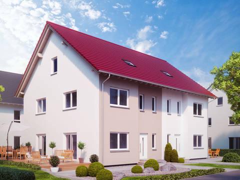 Aussenansicht Haus Stadt-Special 5 von massa haus GmbH