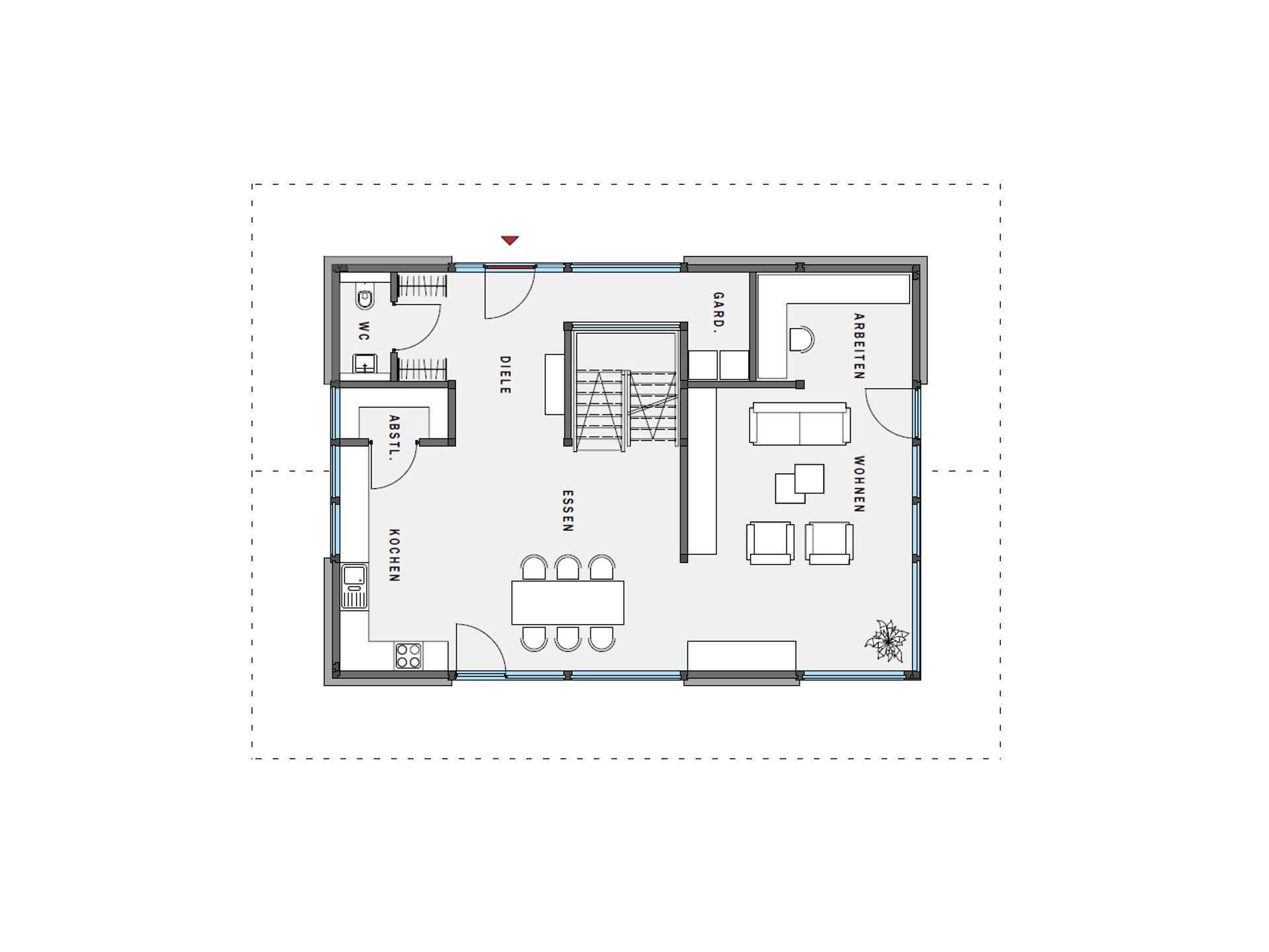 musterhaus huf haus modum 7 10 huf haus. Black Bedroom Furniture Sets. Home Design Ideas