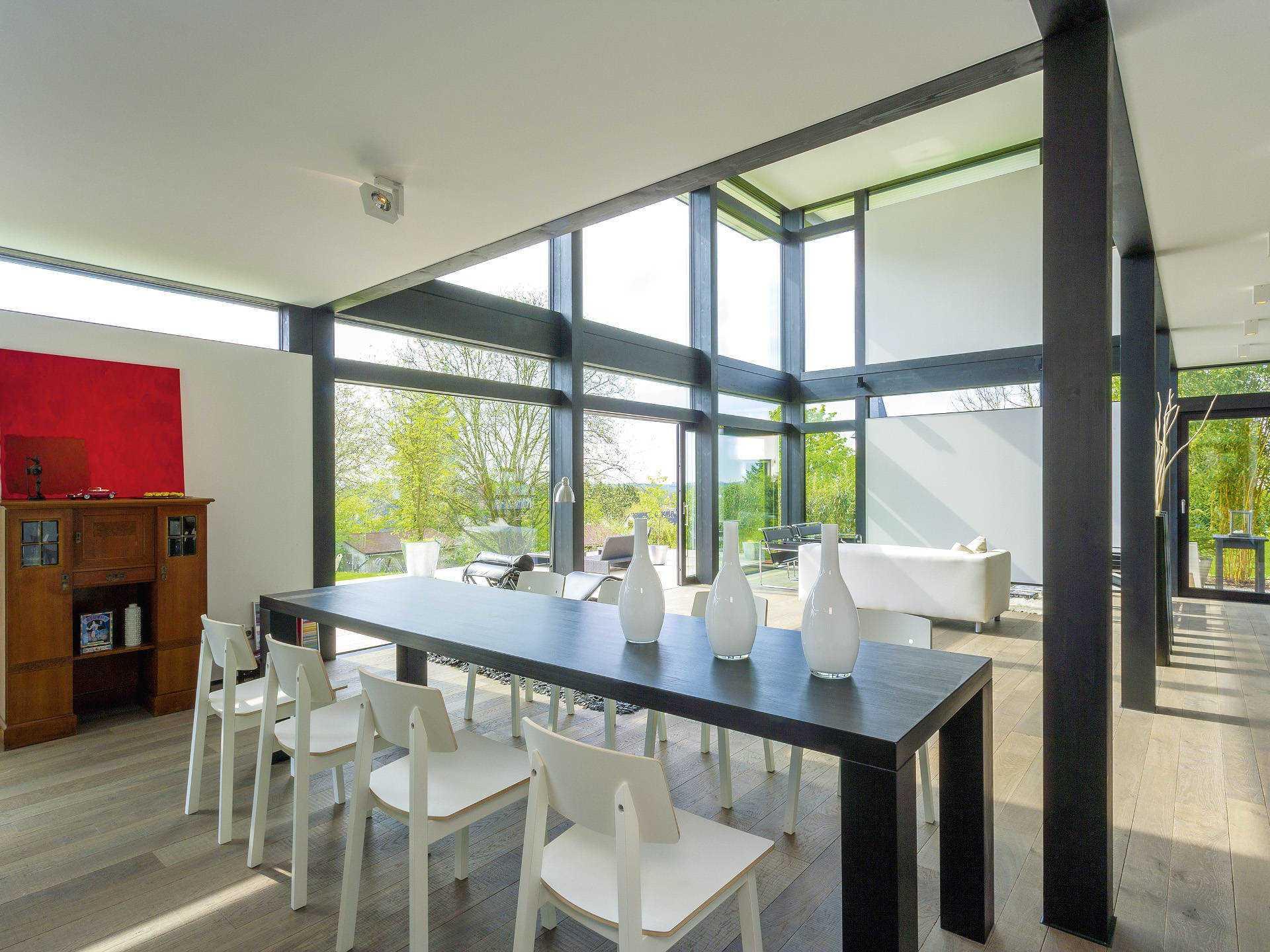 huf haus modum 7 10 mit flachdach huf haus. Black Bedroom Furniture Sets. Home Design Ideas