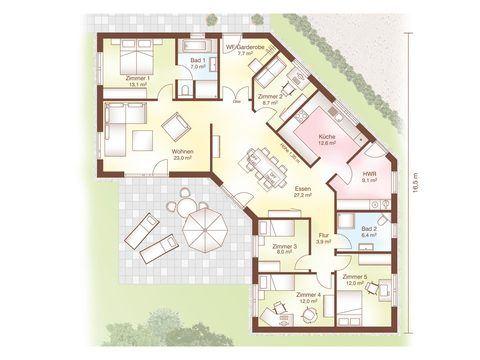 Grundriss Haus Aarhus von Fjorborg